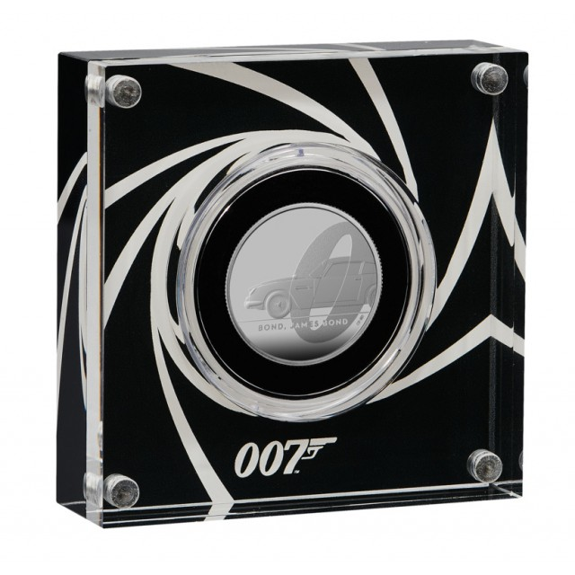 Sterlina in argento - James Bond 007 collection - coin#1