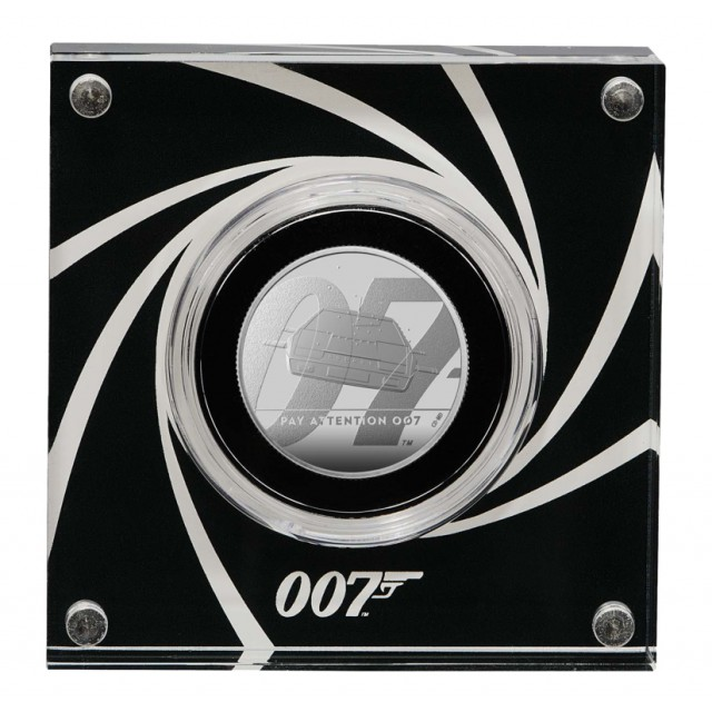 Sterlina in argento - James Bond 007 collection - coin#2