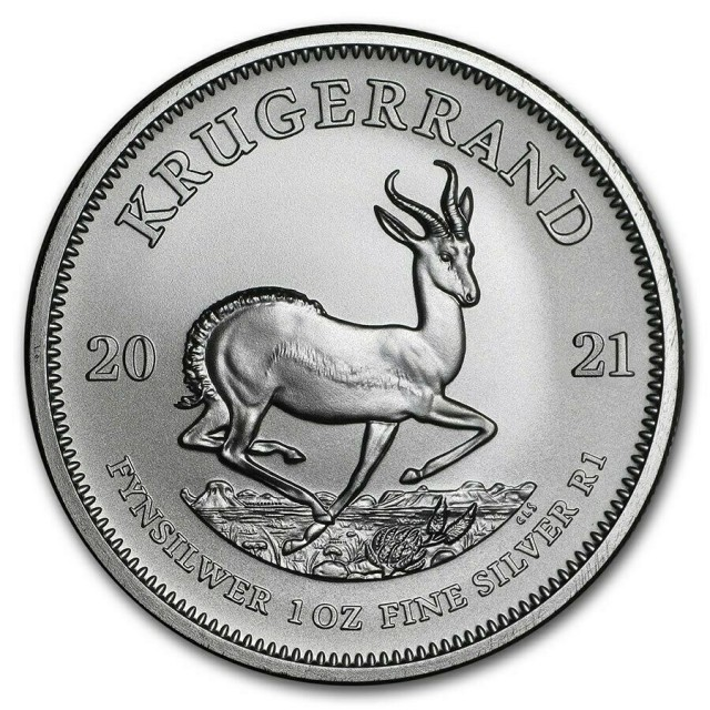 1 RAND SUD AFRICA - 1 oncia (31,10 g) - KRUGERRAND 2021