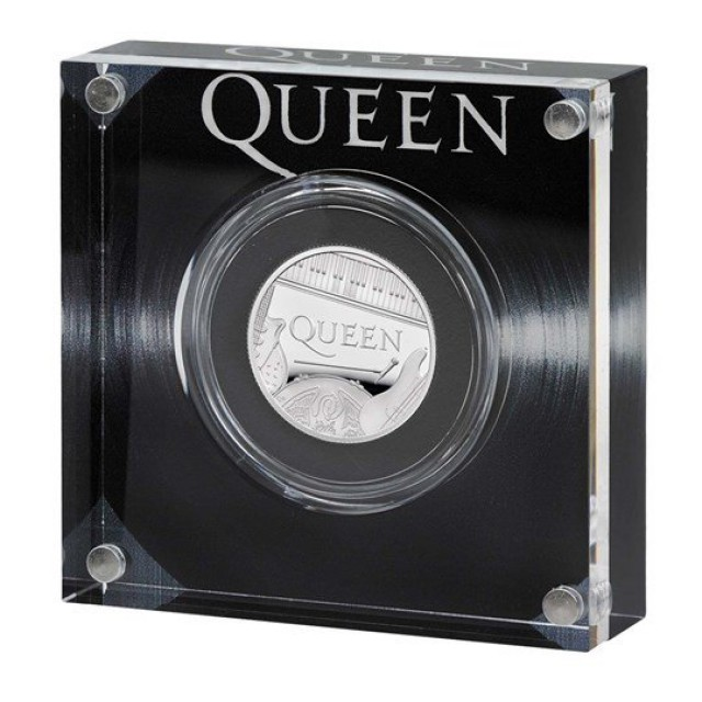 Sterlina in argento - QUEEN BAND - The Rock Royalty