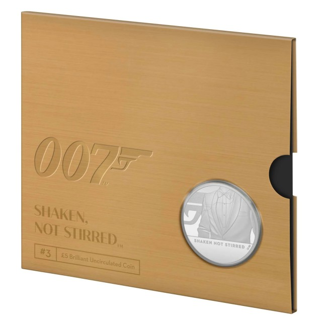 5 Sterline in Cu.Ni.- James Bond 007 collection coin#3