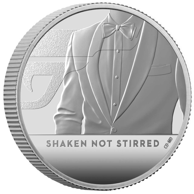 Sterlina in argento - James Bond 007 collection - coin#3