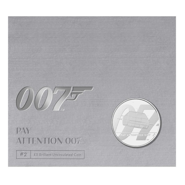 5 Sterline in Cu.Ni.- James Bond 007 collection coin#2